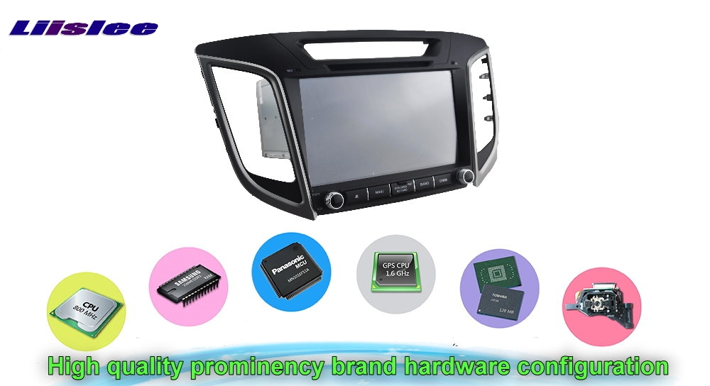 For HYUNDAI ix25 Car Multimedia TV DVD GPS Radio Original Style Navigation Android Advanced Navi Hardware configuration