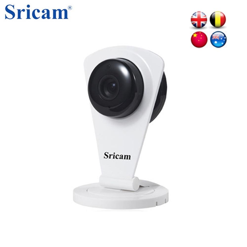 Sricam SP009C 720P 1.0MP Wifi IP Camera Wireless IR-CUT CCTV Security TF IP P2P Night vision function Camera Support NTSC PAL <br>