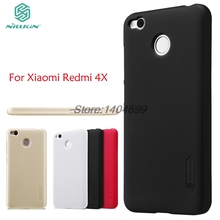Xiaomi Redmi 4X Case Nillkin Frosted Shield Hard Armor PC Back Cover Case For Xiaomi Redmi 4X PRO Gift Screen Protector
