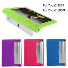 "Lenovo Yoga 2 830F/830L 8.0""Silicon Case, Shockproof Silicon Cover Case Lenovo yoga 2 1050F / L 10.1 Tablet Funda Case"