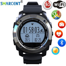 SMARCENT Smart Watch S928 Support G-sensor GPS Notification Sport Mode Wristwatch Smart phone for Android ios(China)