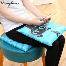 Summer Multi Function Ice Cute Animal Cat Cartoon Printed Cushion Pad Cooling Water Cushion Decorative Pillow Chair Seat