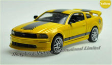 1:32 Scale Alloy Diecast Roadster Car Model For Ford Mustang GT Collection Pull Back Car Sound&Light-Yellow/White/Red/Orange