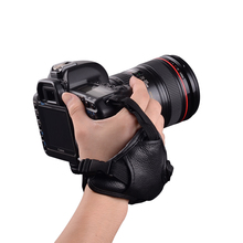 Best Quality Universal DSLR Camera Leather Hand Strap Grip For Canon 5D Mark II 650D 550D For NIKON D7000 D5200 D5100(China)