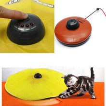 Undercover Fabric Moving Mouse Cat Toy Cats Meow Play For Cat Kitty Funny As Seen On TV