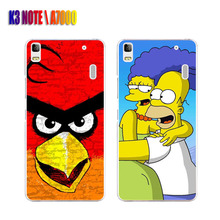Lenovo K3 NOTE Case,Silicon Popular Cartoon Painting Soft TPU Back Cover for lenovo vibe k3W A7000 Phone Protective Case shell
