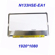 "Free Shipping 13.3"" N133HSE-EA1 EA3 EB3 E21 EB2 REV.C1 for CHI MEI 1920x1080 WUXGA FHD IPS Laptop Slim LED LCD Screen 30PIN EDP"
