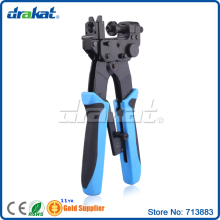 Waterproof 3 in 1 Coaxial F RCA BNC connector Crimping Tool(China)