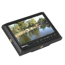 Koolertron 7inch Ultra HD 1024x600 IPS Screen Camera Field Monitor HDMI Input&Output with F970 Plate Support for GH4,A7RII,A7SII