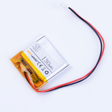 302323 3.7V 130mAh Rechargeable Li-Polymer Li ion Battery For Bluetooth earphone smart watch shuffle series  mp3 mp4 AHB302323