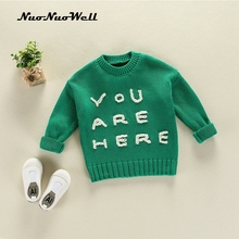 NNW Baby Boys Girls Sweater Shirt Knitwear Infantil Child Autumn Winter Knitted Clothes Casual Kid Clothing Childrens Sweaters(China)