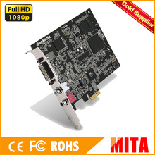 Full HD 1920 x 1200 60fps Versatile DVI/VGA/HDMI PCI Express Card support SDK(China)