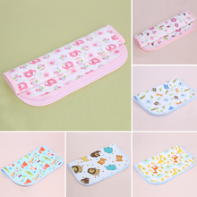 Cartoon Flower Printed Diapers Children Cloth Diaper Baby Stroller Pram Waterproof Bed Reusable Nappy Sheet Mat Cover Urine Pad