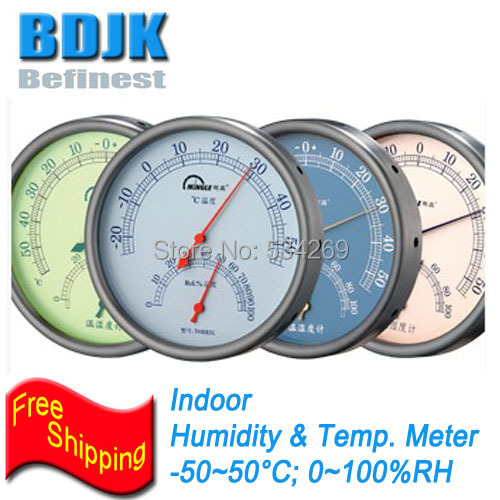 Colorful Indoor Humidity and Temperature Meters with High Accuracy Free Shipping<br>