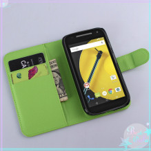 for Motorola Moto E2 E 2nd Gen case 9 colors flip pu leather case cover for Motorola Moto E 2015 XT1527 XT1511 XT1505 XT1524