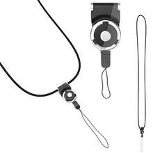 1 x Detachable Cell Phone Mobile Camera Neck Lanyard Strap with Key Ring Holder Phone Straps P10
