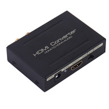 HDMI Optical SPDIF RCA L/R to HDMI Audio Extractor Converter Adapter Splitter(China)