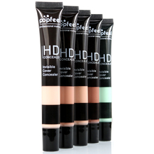 1PC Popfeel Concealer Make up Full Cover Primer Concealer Cream Professional Face Eye Make Foundation Contour Palette 5 Colors