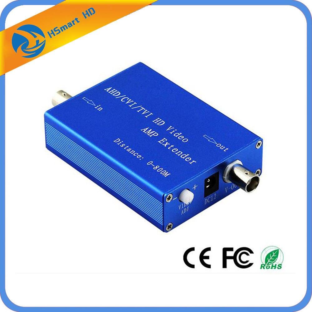 New Hot HD AHD/TVI/CVI Cameras Coaxial Video amplifier For 1080P AHD Security Camera DVR Kits Video Converter<br>