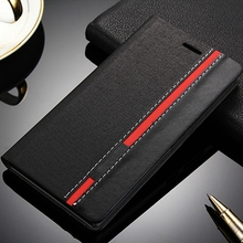 For Lenovo P70 Case Fashion Black Red Hit PU Leather Wallet Hard Plastic Flip Cover For Lenovo P70 P70T P 70 Card Slot Cases(China)