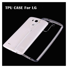 Ultra Thin Slim Clear Transparent Soft TPU For LG G2 G3 G4 mini G5 G6 K10 K8 K5 G4 Style Beat Case Cell Phone Back Cover Case(China)