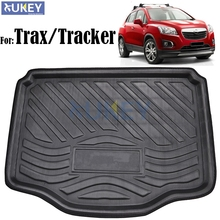Rear Trunk Cargo Boot Liner Mat Floor Tray Carpet Protector Pad For Chevrolet Holden Trax Tracker 2013 2014 2015 2016 2017(China)