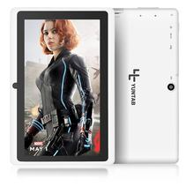 5 Colors 8GB Q88 7 inch Tablet PC Allwinner A33 Quad-Core 512MB/8GB 1024 x 600 Dual Camera WIFI 2800mAh tablet with bluetooth