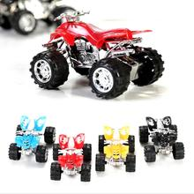 2016 Plastic Cute Toy Cars for Child hot wheels Mini Car Model Kids Toys for Boys Individuality present Gift Random colors(China)