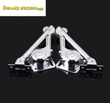 2Pcs (1Pair)/Lot Lift Up Cabinet Door Flap Stay Mechanism Stay Soft Down Stay Lid Stay Hydraulic