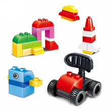 BOHS 72pcs Junior Builder Basic Classic Big Size Brick Building Blocks Diy Children Educational Toys Compatible with Top Brand(China)