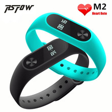RsFow Original M2 Smart Fitness Bracelet watch Wristband Miband OLED Touchpad Sleep Monitor Heart Rate better than Xiaomi band 2