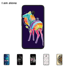 Soft TPU Silicone Case For Alcatel Pixi 4 (5) 5045D 4G 5.0 inch Cellphone Cover Mobile Phone Protective Skin Mask Color Paint