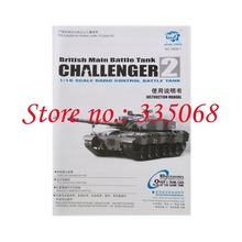 HENG LONG 3908/3908-1 RC tank BRITISH CHALLENGER 2  1/16 spare parts No. Manual / booklet
