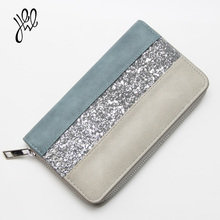 Women Wallet Leather 2017 Luxury Brand Fashion Casual Ladies Purse Zipper Vintage Long Party Clutch Card Holder WholesaleCheaper