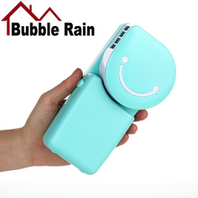 A32 Mini Portable Rechargeable USB Cooling Air Fan Battery Air Conditioning Fan for Home Office Outdoor Travelling Handheld Fan