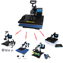 Cheap High Quality 8 In 1 Combo Heat Press Machine ,Sublimation machine ,Plate/Mug/Cap/TShirt heat press,heat transfer machine