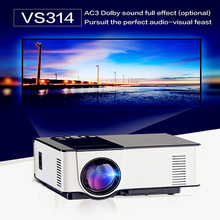 VS314 LED Mini Home TV Projector Full HD 1500 Lumens 800 x 480 Pixels 0.9 - 6M Media Player Portable Home Theater Proyector