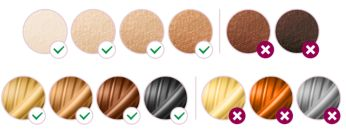 Suitable for different hair and skin types