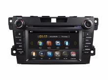 "HD 2 din 7"" Car DVD Radio GPS Navigation for Mazda CX-7 CX 7 CX7 2012 2013 2014 2015 With Bluetooth TV SWC USB AUX IN"