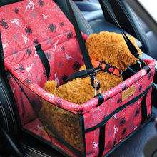 Kimpets New Folding Washable Hammock Car Mat Seat Cover Bag Crate Storage Pocket For Dog Cat Pet Rear Single Seat Pads(China)