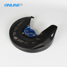 Front Brake Disc Rotor Guard Cover Protector Protection For YZ125 250 YZF WRF YZF250 YZF450 WRF250 WRF450