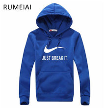 RUMEIAI Winter Autumn 2017 New Designer Hoodies Men Fashion Brand Pullover Sportswear Sweatshirt Men'S Tracksuits Moleton