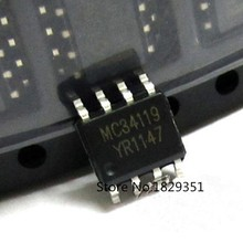Original 10PCS/LOT MC34119 MC34119DR2 MC34119E 34119 make in china SOP-8(Integrated circuit IC) ...(China)