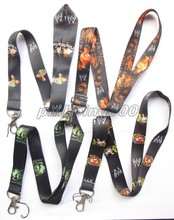 Lot  Mixed 100Pcs Popular wrestling Mobile Cell Phone Lanyard Neck Straps Party Gifts J38