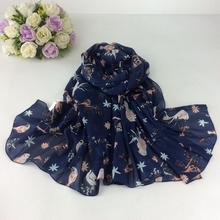 Mix Design Order Cute Birds Print Ladies Mercerizes cotton Scarves Shawls and Hijabs Head Cape Muslim Hijab Scarf Women(China)