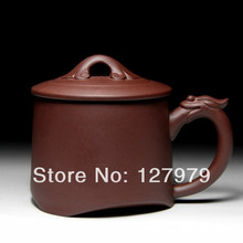 Yixing purple sand pot, purple clay teacup, dragon style, teacup, puer ,oolong, green tea cup, teaset~(China)