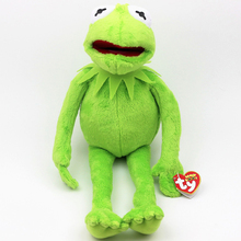 "Hot Sale 16"" 40cm Kermit Plush Toys Sesame Street frogs Doll Stuffed Animal Kermit Toy Plush Frog Doll Holiday Gift(China)"