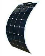 100W semi-flexible solar panels with high efficiency US solar solar cell manufacturing(China)
