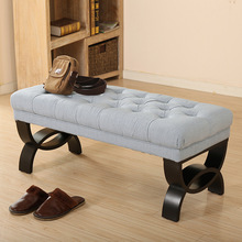american fabric sofa stool changing his shoes and clothing store footstool