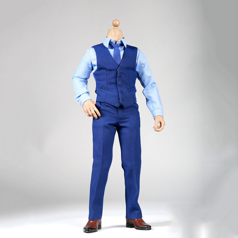 1/6 Scale Batman v Superman: Ben Affleck Blue Clothing suit Without Head &amp; Body for 12 Inches Bodies Figures and Dolls<br>